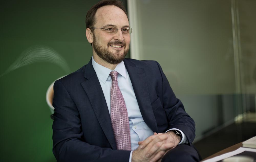 Nikolay Stefanov, General Manager JDE South Central Europe