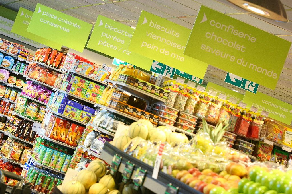 in store food