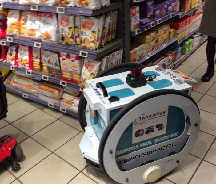 French supermarket Casino tests robot delivery | Revista