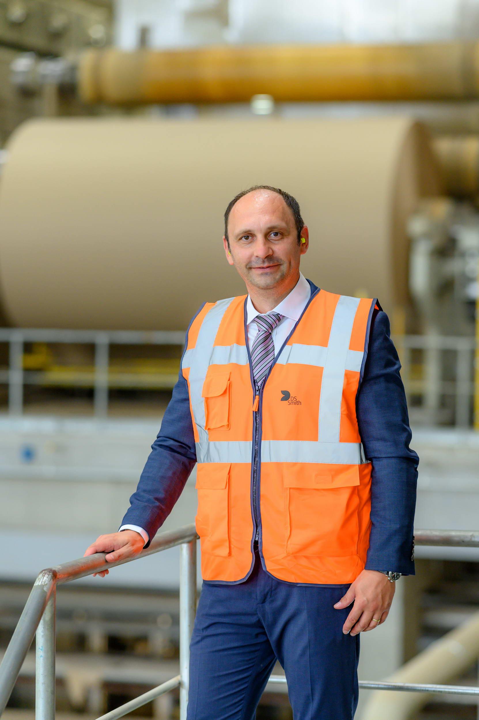 Marius Juncanariu, CEO fabrica de hartie pentru ambalaje din Zarnesti