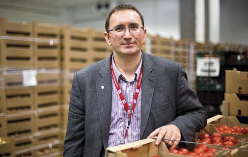 Ionut Parfente, Director de Achiziții Legume și Fructe Kaufland România
