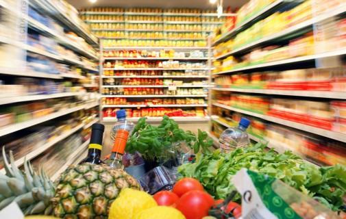 cos de cumparaturi pentru produsele de larg consum