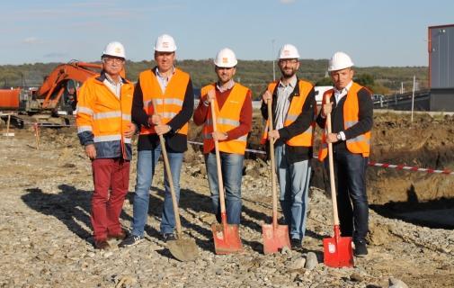 Construcție hub Gebruder Weiss