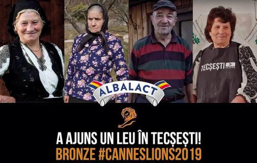 Tecsesti, bronz la Cannes
