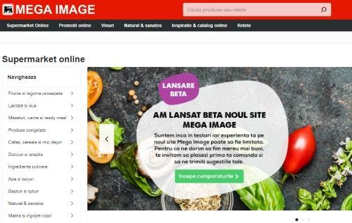 Magazin online Mega Image