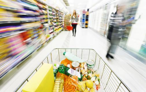 Topul retailerilor internationali Cos rafturi supermarket