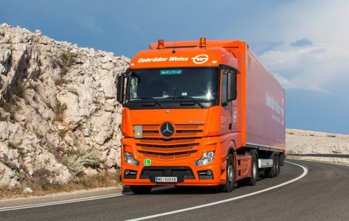 Truck Gebruder Weiss