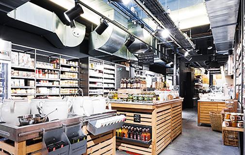 magazin causses - interior