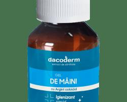 Dacoderm - Gel de maini igienizant cu Ag coloidal 75ml