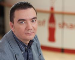 Adrian Cernautan, Regional Manager Caucaz Coca-Cola Company