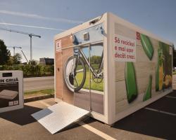 Kaufland zona de reciclat